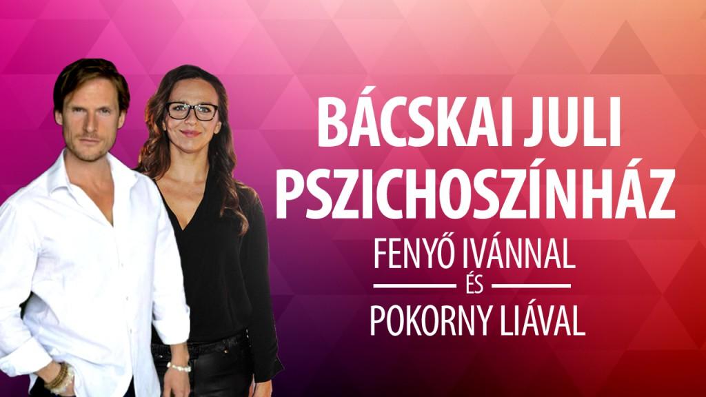 Fenyő Iván és Pokorny Lia a KMO színpadán